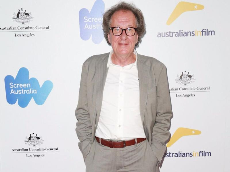 Aussie actor Geoffrey Rush has been accused of sexual misconduct whilst starring in the play King Lear. Source: Getty