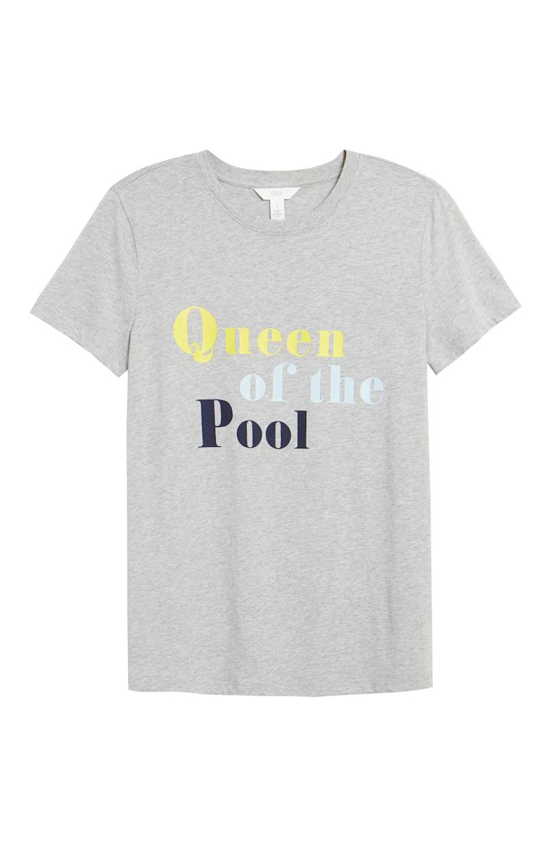 1901 Queen of the Pool Graphic Tee. Image via Nordstrom.