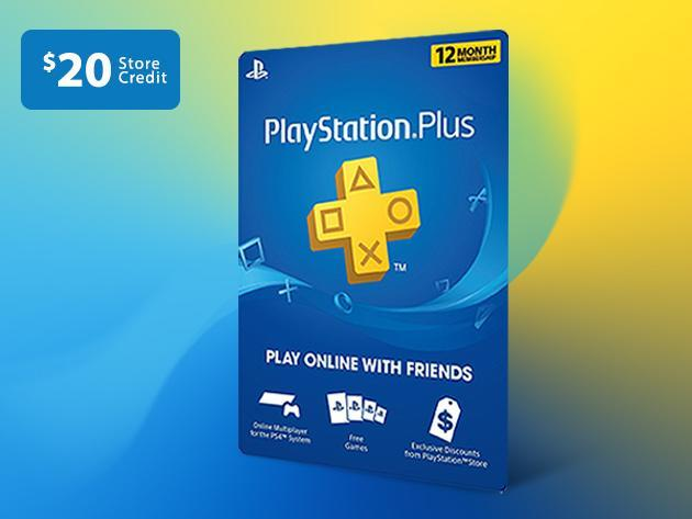 Get a Year of PlayStation Plus and $20 In Shop Credit for Just $50_2