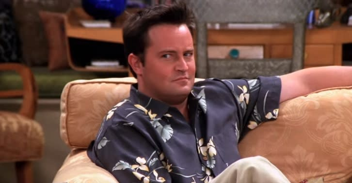 """Matthew Perry revealed the one """"Friends"""" storyline he refused to do"""