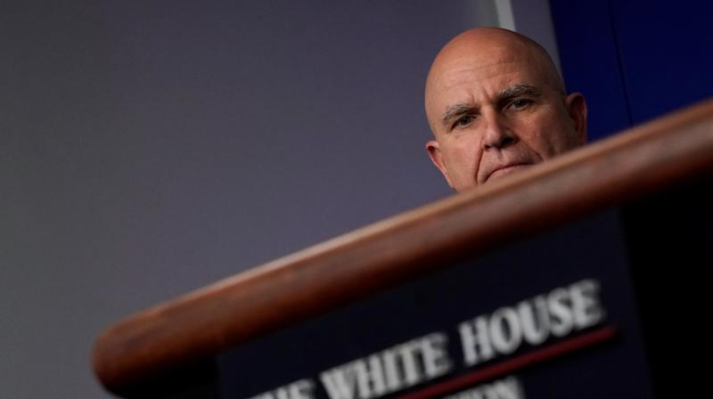 National security adviser H.R. McMaster is leaving President Donald Trump's