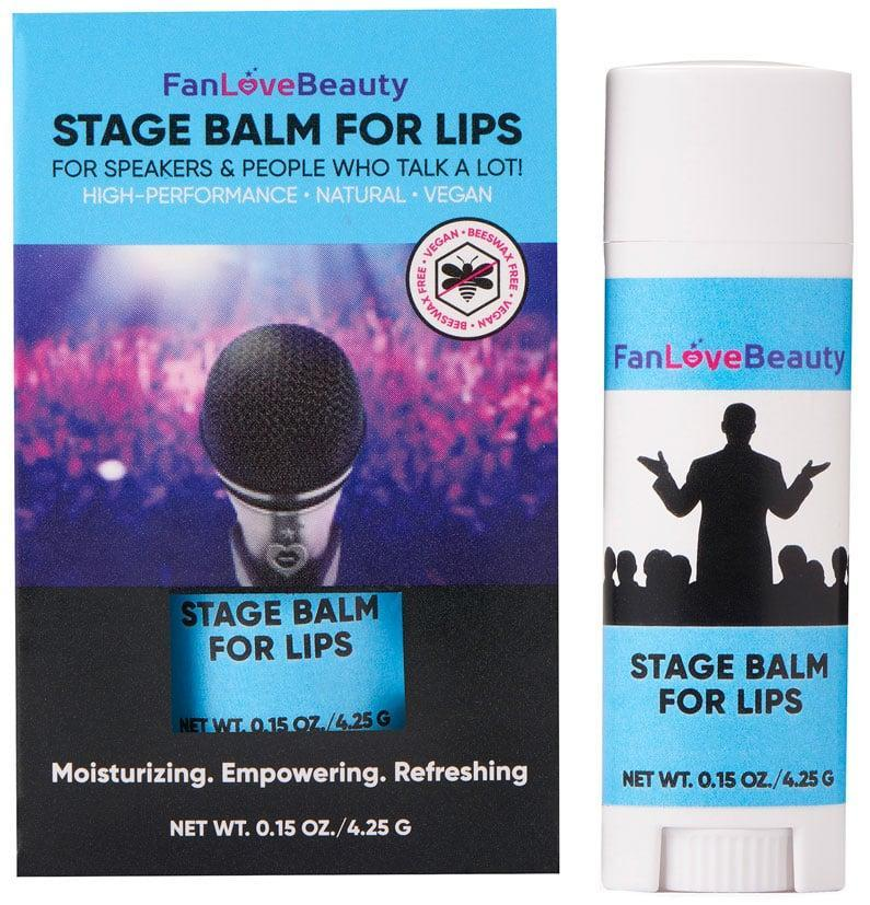 """<p>""""Created by longtime cosmetic chemist Ginger King, I knew I was getting nothing but the best ingredients from the <span>FanLoveBeauty 100% Natural Vegan Lip Balm</span> ($10). Although, the subtle scent of peppermint makes it even better."""" - Kelsey Castañon, beauty director</p>"""