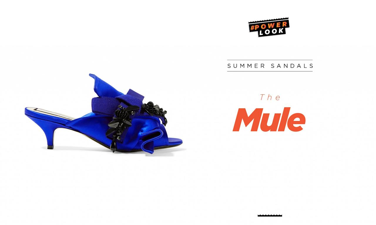 <p>Mules can be classic yet elegant, and worn for a varitey of occasions from work to dinner, as well as a night out on the town. </p>