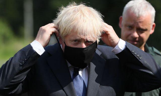 Coronavirus: Boris Johnson says government will be 'ruthless' over whether to add France to quarantine list