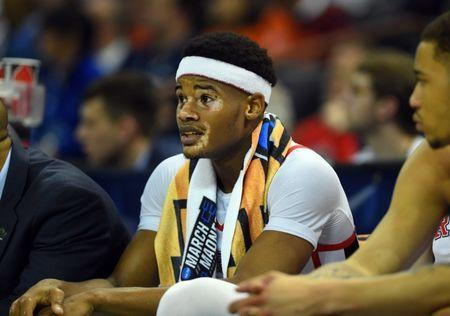 Mar 22, 2019; Columbia, SC, USA; Mississippi Rebels guard Devontae Shuler (2) on the bench during the second half against the Oklahoma Sooners in the first round of the 2019 NCAA Tournament at Colonial Life Arena. Mandatory Credit: Bob Donnan-USA TODAY Sports