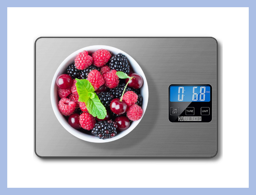 This digital kitchen scale measures up. (Photo: Amazon)