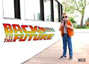 """<p>It's 'Back to the Future' time with this adorable rendition of everyone's favorite time traveler, Marty McFly. </p><p><strong>Get the tutorial at </strong><strong><a href=""""https://www.madeeveryday.com/8-years-of-halloween-costumes/"""" rel=""""nofollow noopener"""" target=""""_blank"""" data-ylk=""""slk:MADE Everyday"""" class=""""link rapid-noclick-resp"""">MADE Everyday</a>. </strong></p><p><a class=""""link rapid-noclick-resp"""" href=""""https://www.amazon.com/Elishow-Children-Outwear-Snowsuit-Outdoor/dp/B07HTLYC6G/ref=sr_1_2?dchild=1&keywords=orange+puffer+vest+kids&qid=1592402675&sr=8-2&tag=syn-yahoo-20&ascsubtag=%5Bartid%7C10050.g.21600836%5Bsrc%7Cyahoo-us"""" rel=""""nofollow noopener"""" target=""""_blank"""" data-ylk=""""slk:SHOP PUFFER VESTS"""">SHOP PUFFER VESTS</a></p>"""