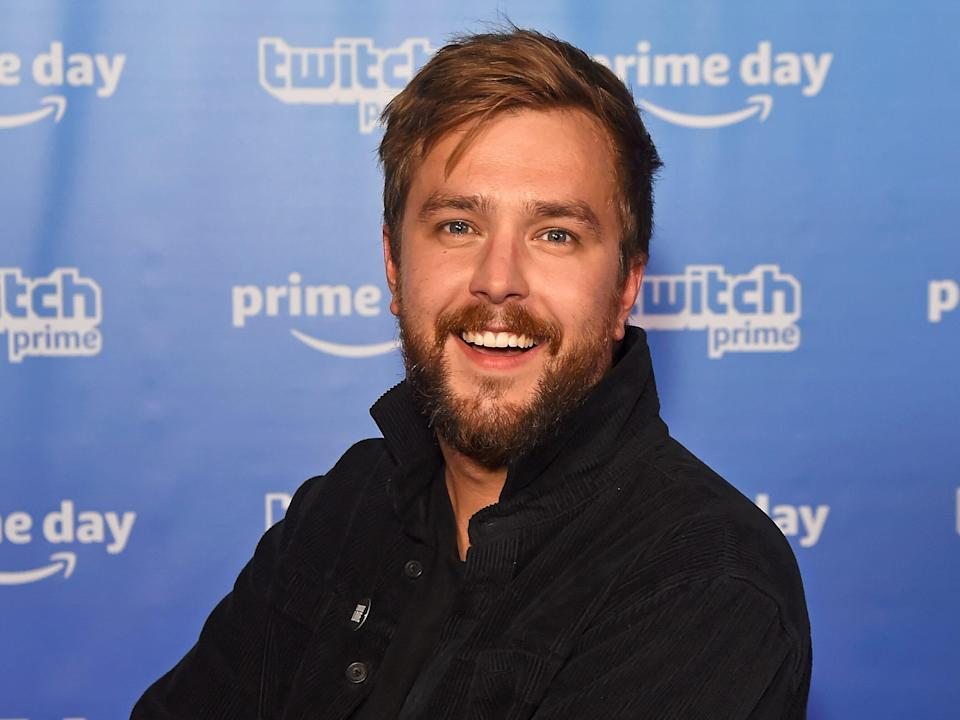 Iain Stirling smiling