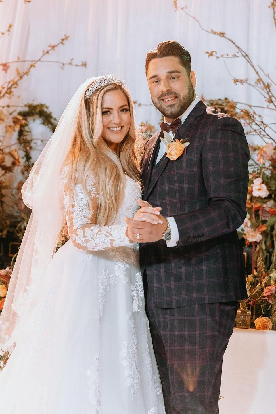 Megan and Robert are one of the couples matched by the show's experts (Channel 4)