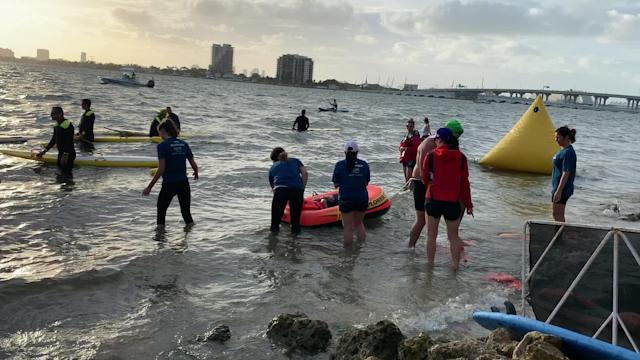 Differently-Abled Athletes & Swimmers Take Part In Annual Escape To Miami Triathlon