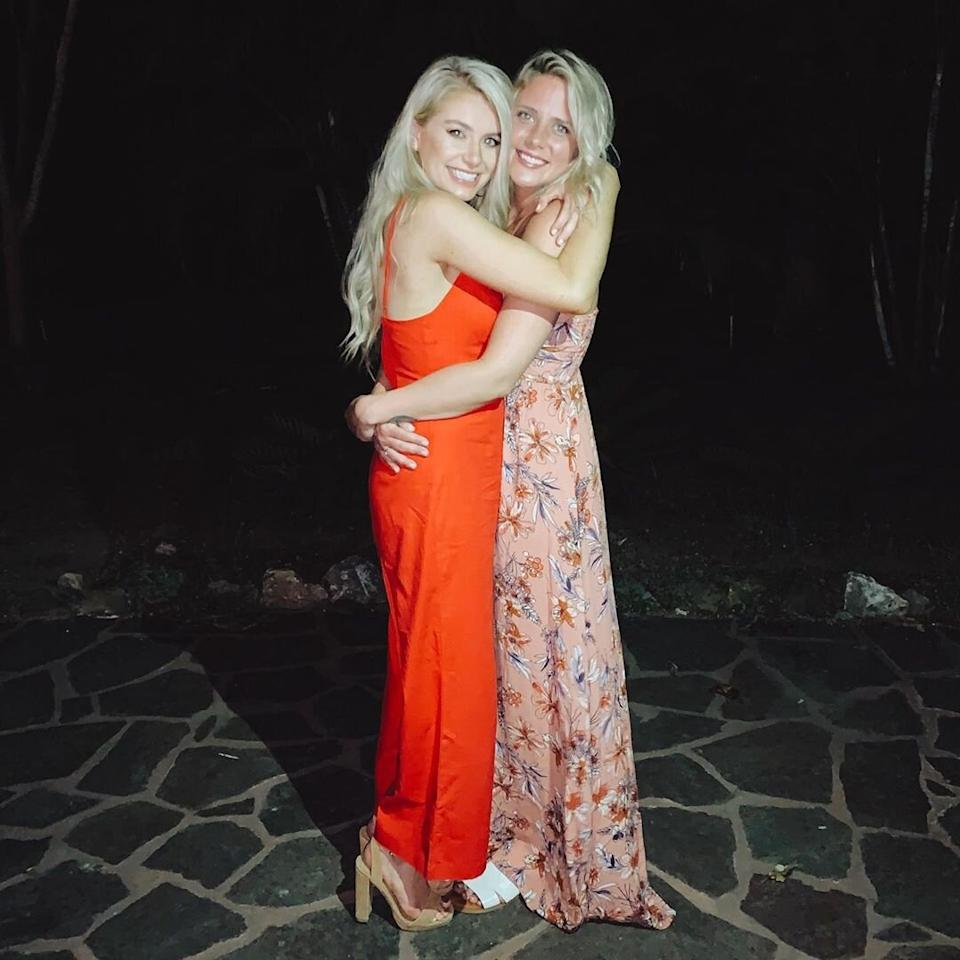 "<a href=""https://people.com/tv/how-demi-burnett-met-kristian-bachelor-in-paradise/""><em>Bachelor </em>Nation's first same-sex couple,</a> Demi & Kristian, had an unconventional road to paradise — Chris Harrison brought Kristian, a non-Bachelor Nation alum, onto the beach after finding out that Demi still had feelings for her — and sparks flew. <a href=""https://people.com/style/bachelor-in-paradise-demi-burnett-and-kristian-haggerty-engagement-rings/"">Demi proposed to Kristian</a> on the beaches of <em>Paradise </em>in the September 2019 finale, and Kristian returned the favor by <a href=""https://people.com/tv/bachelor-in-paradise-demi-burnett-opens-up-engagement-kristian-haggerty/"">popping the question</a> on the reunion show.   However, Oct. 2019 proved to. be an unlucky month for <em>Bachelor in Paradise </em>couples, as <a href=""https://people.com/tv/bachelor-in-paradise-demi-burnett-kristian-haggerty-split/"">Demi and Kristian split</a>. The pair each shared photos from their relationship to their respectively Instagram accounts, accompanied by the <a href=""https://www.instagram.com/p/B4SrdiUBzKE/"">same lengthy caption.</a> In part, it read, ""What has always been at the forefront of our relationship is love and care for one another ...With a heavy heart full of love for one another we have decided it is best for us to take a step back from our relationship ... We will forever be proud of the impact our love story has made."""