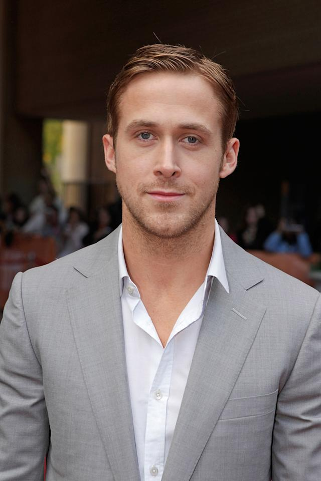 """<a href=""""http://movies.yahoo.com/movie/contributor/1804035474"""">Ryan Gosling</a> at the 35th Annual Toronto Film Festival premiere of <a href=""""http://movies.yahoo.com/movie/1809945752/info"""">Blue Valentine</a> on September 15, 2010."""