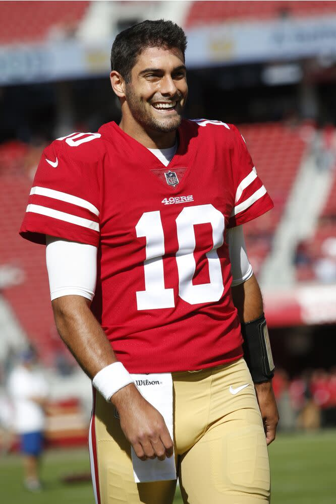 Jimmy Garoppolo | Michael Zagaris/San Francisco 49ers/Getty Images