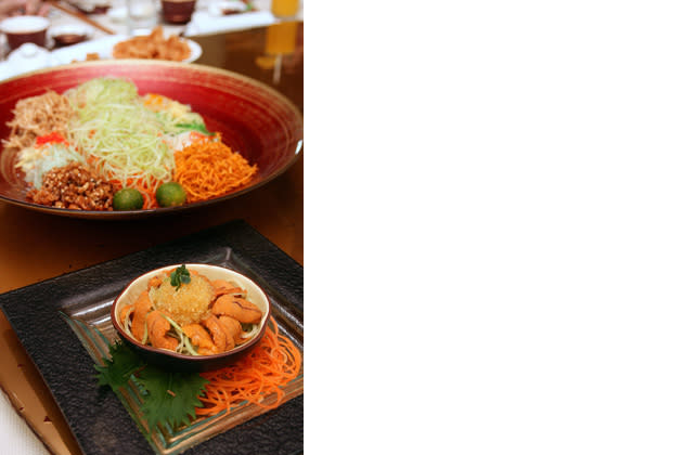 Five Unusual Yusheng for Chinese New Year