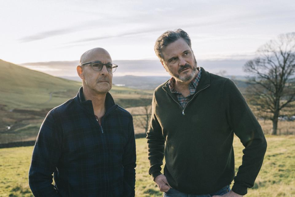 Stanley Tucci and Colin Firth play a gay couple in the new drama 'Supernova' (Photo: Bleecker Street)