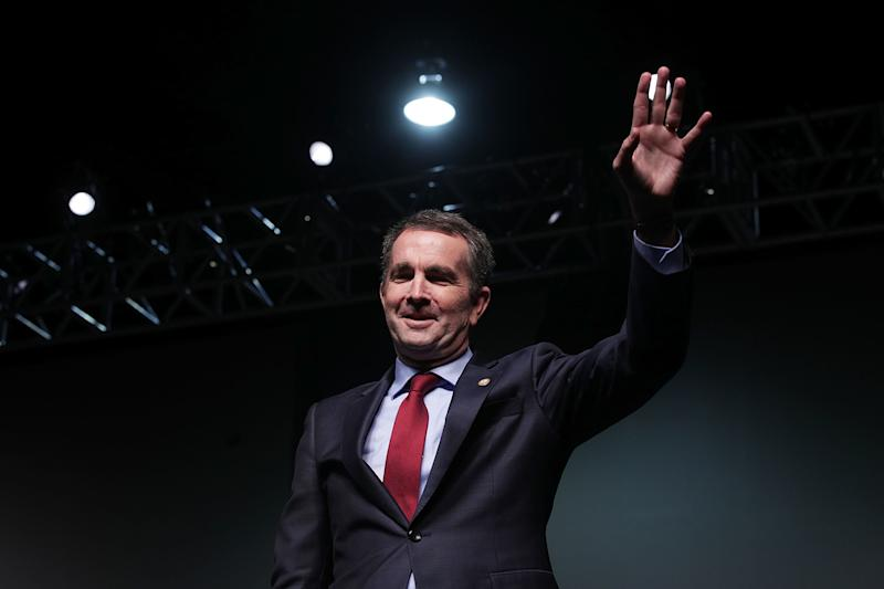 Democrat Ralph Northam hopes to avoid a demoralizing loss for his party in Virginia's gubernatorial election on Tuesday. Polling suggests the race is very close. (Alex Wong/Getty Images)