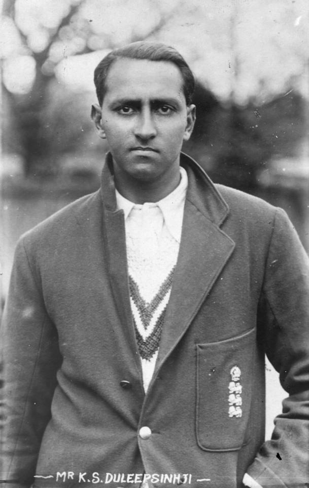 Mr Kumar Shri Duleepsinhji (1905 - 1959),  cricketer for England, Cambridge University and Sussex.  Original Publication: People Disc - HH0433   (Photo by Topical Press Agency/Getty Images)