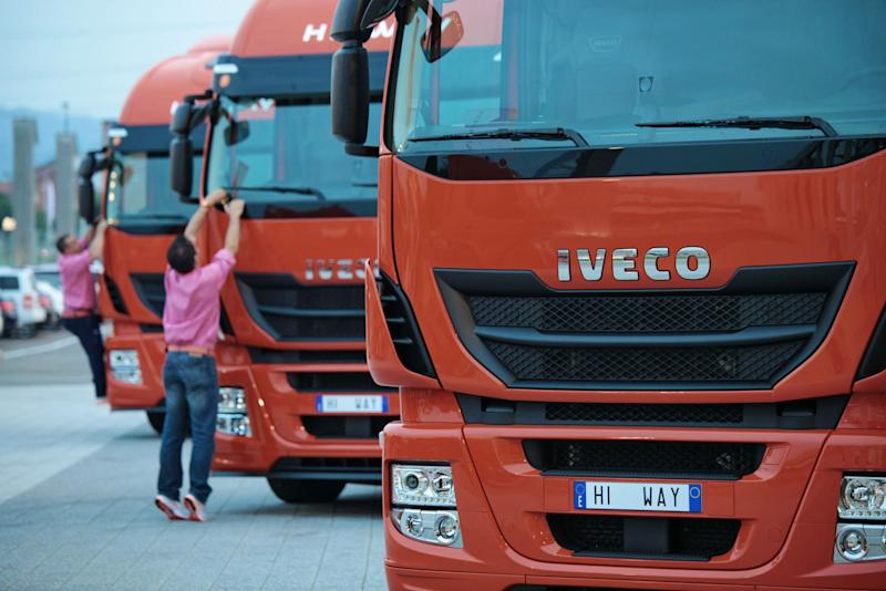 CNH Industrial Weighs Options for Iveco Truck Unit