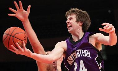 Northwestern's John Shurna is averaging 26.6 points in his past three games