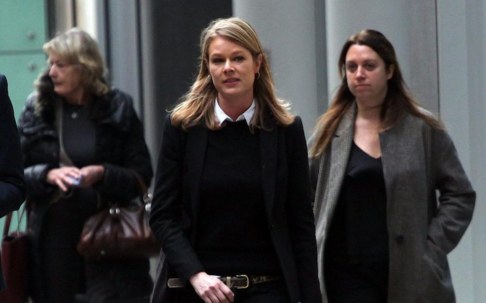 Lauretta Shearer pictured outside the High Court - Champion News