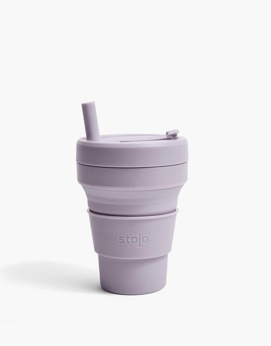 <p>This <span>Stojo 16-Ounce Biggie Collapsible Cup</span> ($20) is smart, because they can easily pack it in their bag.</p>