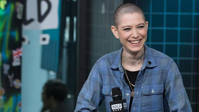 <em>Billions</em> star Asia Kate Dillon speaks on playing nonbinary Taylor Amber Mason in the hit Showtime drama series. (Photo: Build NYC)