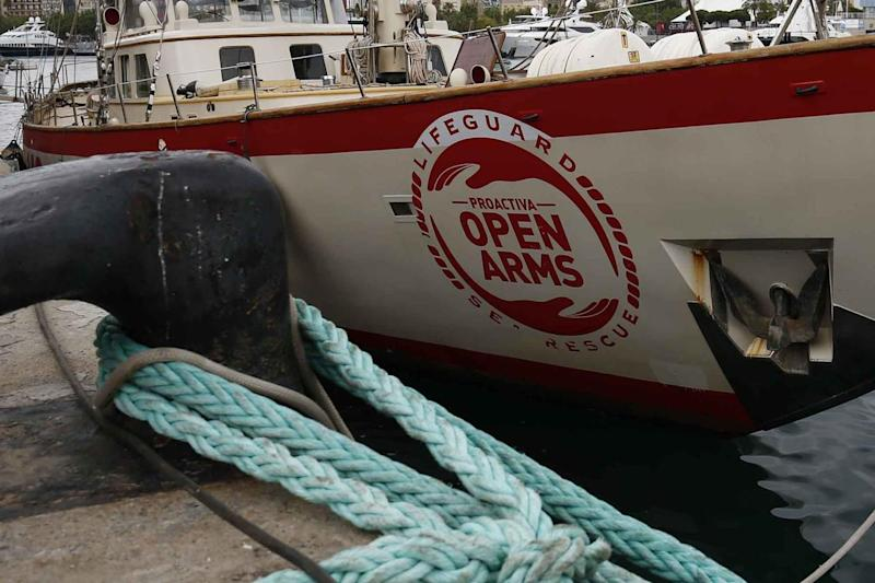 Open Arms attracca a Palermo