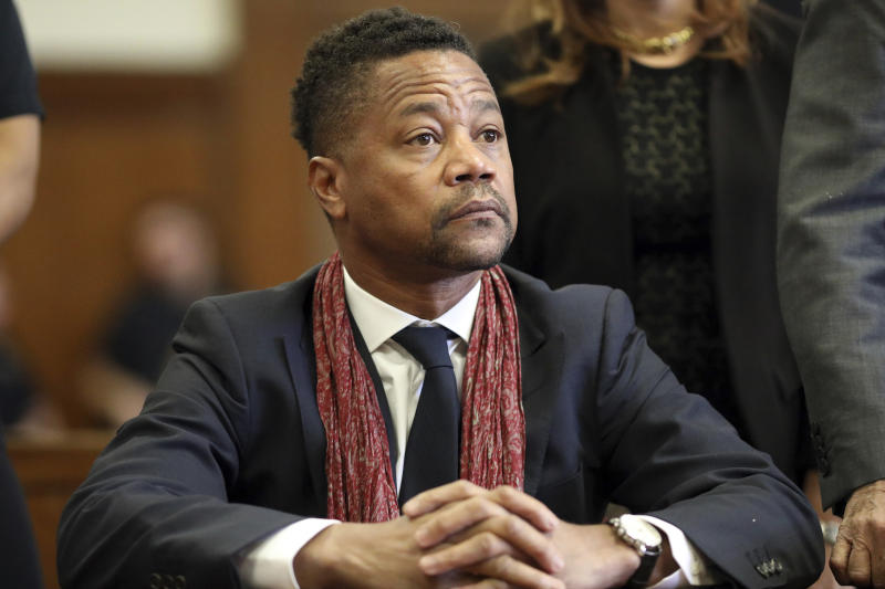 VIOLENCIA SEXUAL-CUBA GOODING JR