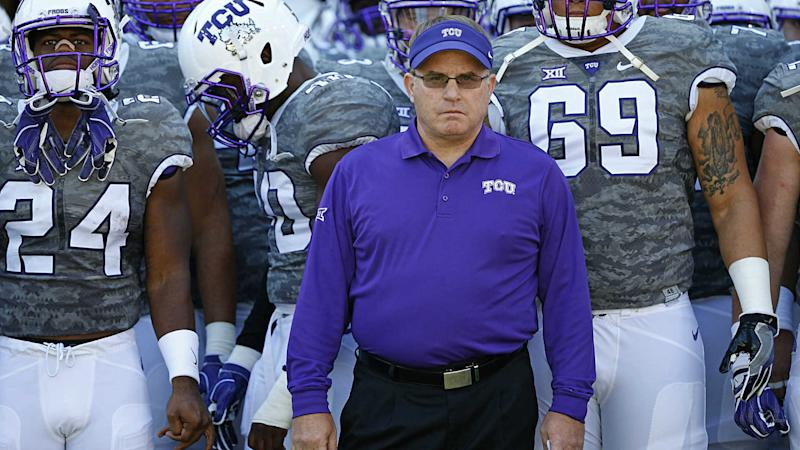TCU coach Gary Patterson apologizes for use of N-word in practice