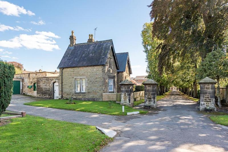 Malton Lodge's new owner can claim their bonus burial plot if they wish at the nearby cemetery. Source: Willow Green Estate Agents