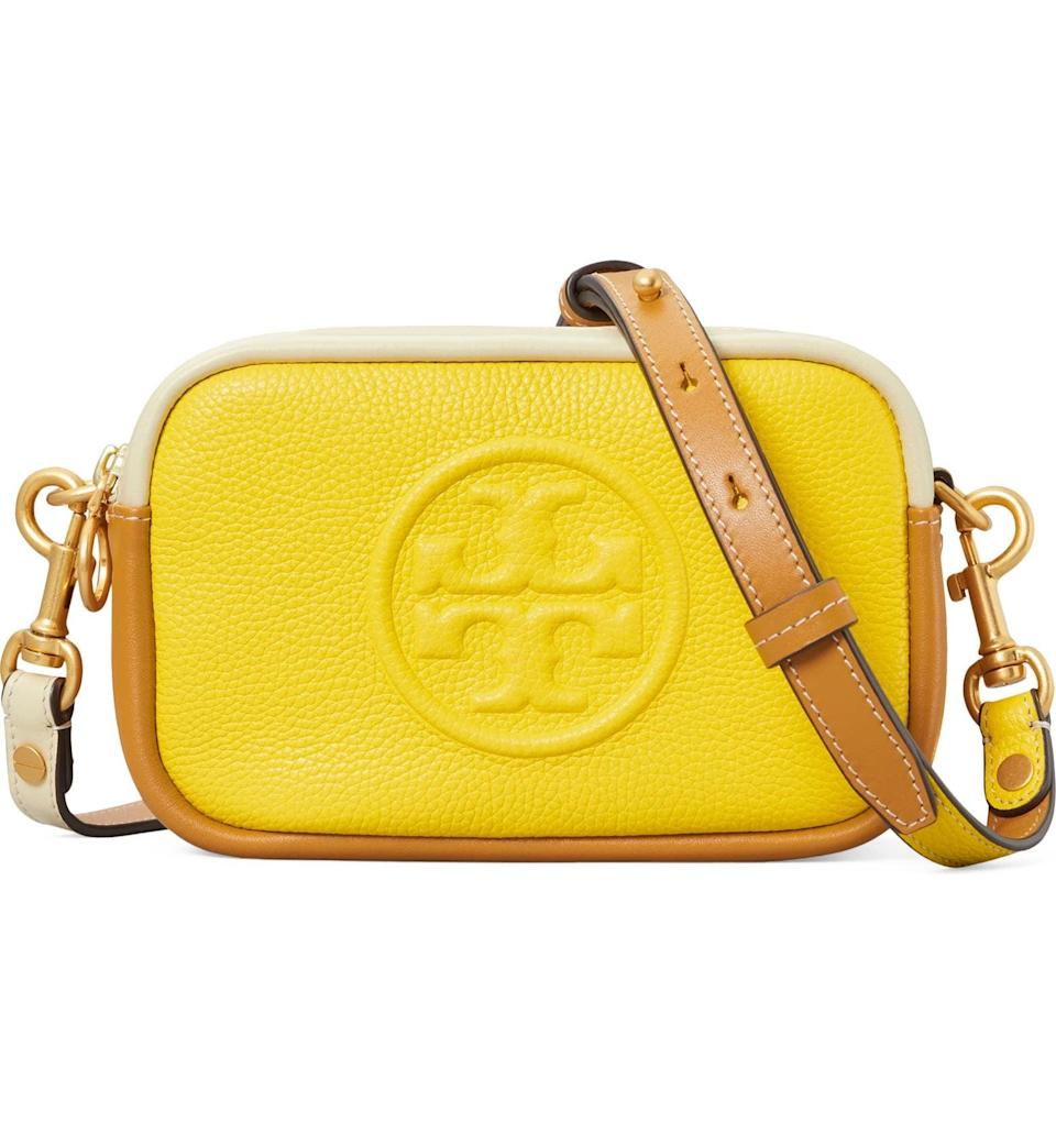 <p><span>Tory Burch Perry Bombe Color Block Leather Crossbody Bag</span> ($222, originally $278)</p>