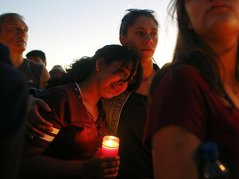 Seventeen students were killed in the February 14, 2018 Parkland school shooting (AP Photo/Brynn Anderson)