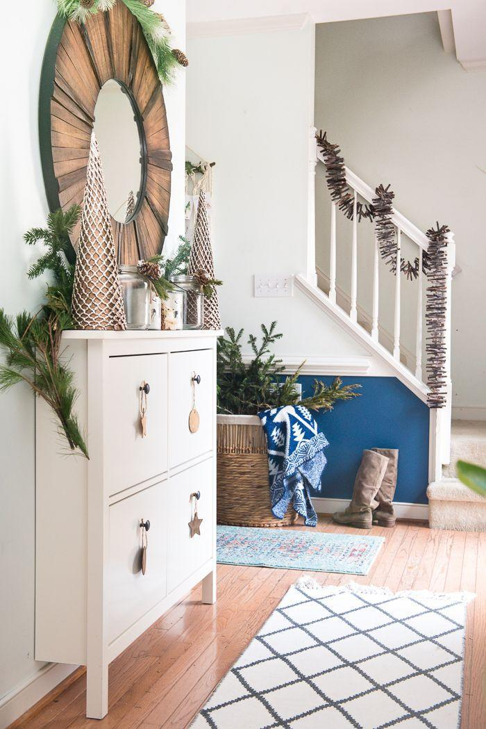 """<p>Here's a fun staircase decorating idea the kids can help with. Send them outside to collect as many twigs as they can, then tie them onto a piece of sturdy string to collect a cool, rustic garland for your banister. </p><p><em>See more at <a href=""""https://placeofmytaste.com/christmas-home-tour-bsht-16/"""" rel=""""nofollow noopener"""" target=""""_blank"""" data-ylk=""""slk:Place of My Taste"""" class=""""link rapid-noclick-resp"""">Place of My Taste</a>. </em></p><p><a class=""""link rapid-noclick-resp"""" href=""""https://www.amazon.com/TKOnline-100Pcs-0-1-0-2-Diameter-Sticks/dp/B078Y1GJL8/?tag=syn-yahoo-20&ascsubtag=%5Bartid%7C10072.g.34479907%5Bsrc%7Cyahoo-us"""" rel=""""nofollow noopener"""" target=""""_blank"""" data-ylk=""""slk:SHOP TWIGS"""">SHOP TWIGS</a></p>"""