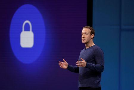 Zuckerberg speaks at Facebook Inc's annual F8 developers conference in San Jose