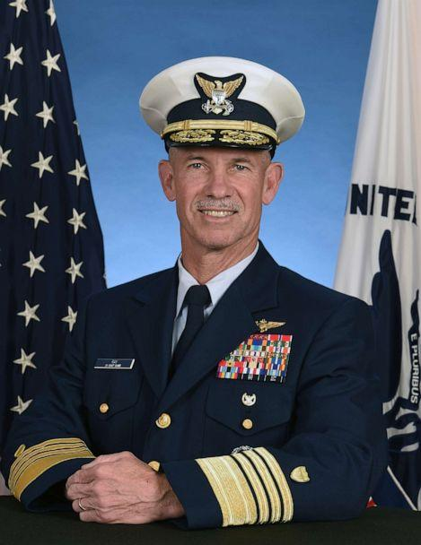 PHOTO: Vice Commandant of the U.S. Coast Guard, Admiral Charles W. Ray. The Coast Guard's second highest-ranking officer tested positive for COVID-19, according to a Pentagon announcement, Oct. 6, 2020. (U.S. Coast Guard )