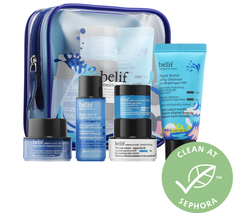 Belif Aqua Hydration Rescue Kit. Image via Sephora.