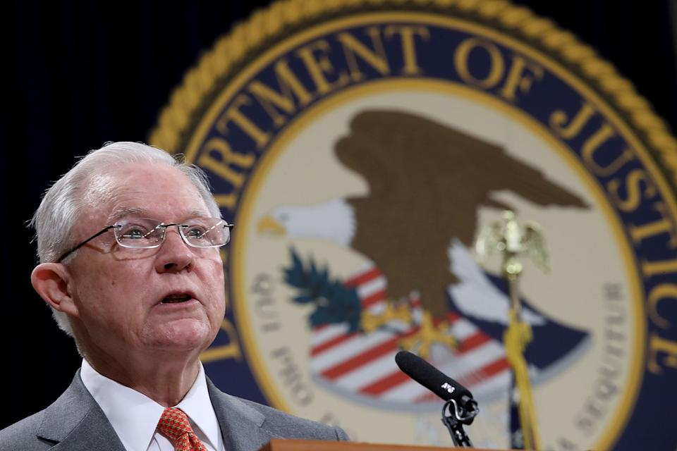 Attorney General Jeff Sessions has the authority to refer immigration court cases to himself, reverse decisions made by judges and set precedent. (Photo: Win McNamee/Getty Images)