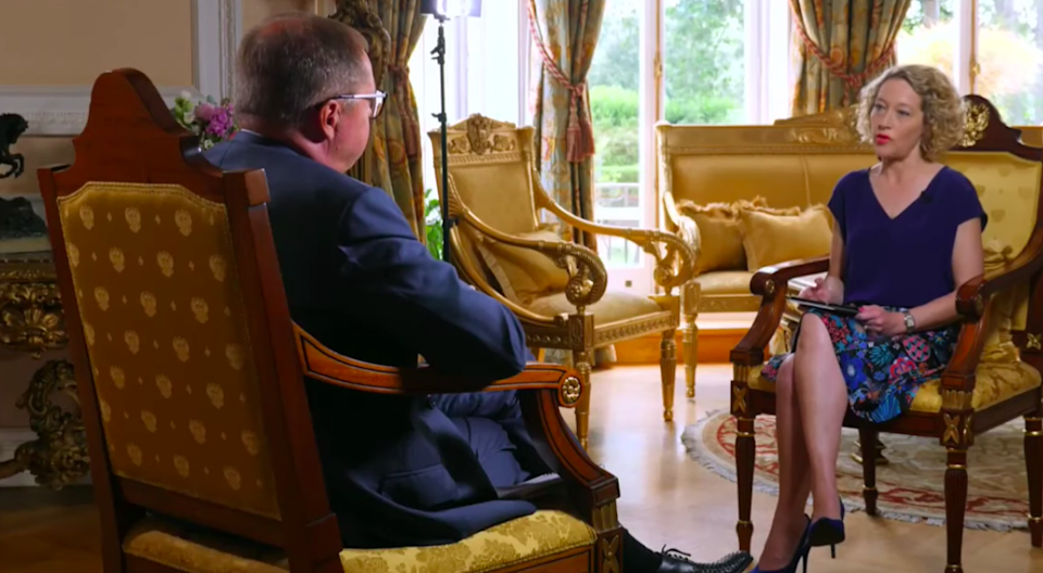 The minute we'd finished, he'd declared himself 'disappointed' with the interview. And that sounded like a particularly Russian understatement (Channel 4 News)