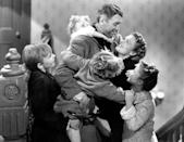 """<a href=""""http://movies.yahoo.com/movie/its-a-wonderful-life/"""" data-ylk=""""slk:IT'S A WONDERFUL LIFE"""" class=""""link rapid-noclick-resp"""">IT'S A WONDERFUL LIFE</a> (1946) <br>Directed by: <span>Frank Capra</span> <br>Starring: <span>James Stewart</span>, <span>Donna Reed</span> and <span>Lionel Barrymore</span>"""