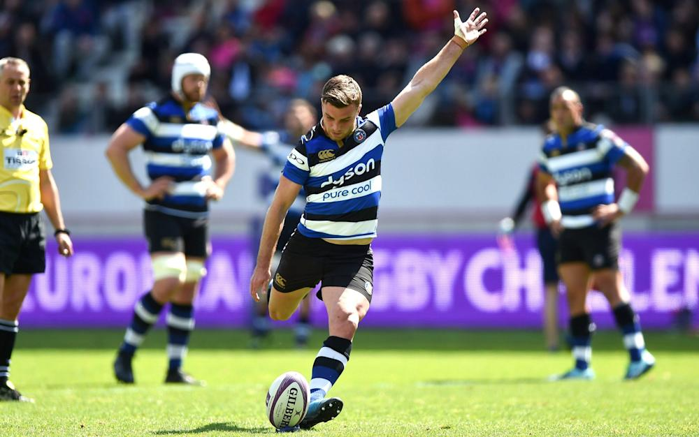 George Ford - Stade Francais 28 Bath 25: George Ford misses injury-time penalty in Challenge Cup semi-final defeat - Credit: REX FEATURES