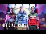 """<p>Here's the perfect movie to watch while wrapping presents after the kids have gone to bed. Seth Rogen, Anthony Mackie, and Joseph Gordon-Levitt star as Isaac, Chris, and Ethan—three longtime best friends who celebrate each Christmas Eve together. However, after realizing that the nearing arrival of Isaac's first child will mean this year is their last go-around with the tradition, the trio becomes determined to make it count. As you might guess from the lineup, plenty of R-rated holiday hilarity ensures.</p><p><a class=""""link rapid-noclick-resp"""" href=""""https://www.amazon.com/Night-Before-Joseph-Gordon-Levitt/dp/B018AEXT82?tag=syn-yahoo-20&ascsubtag=%5Bartid%7C10054.g.29850133%5Bsrc%7Cyahoo-us"""" rel=""""nofollow noopener"""" target=""""_blank"""" data-ylk=""""slk:Watch Now"""">Watch Now</a></p><p><a href=""""https://www.youtube.com/watch?v=kOBdxkhJvHQ"""" rel=""""nofollow noopener"""" target=""""_blank"""" data-ylk=""""slk:See the original post on Youtube"""" class=""""link rapid-noclick-resp"""">See the original post on Youtube</a></p>"""