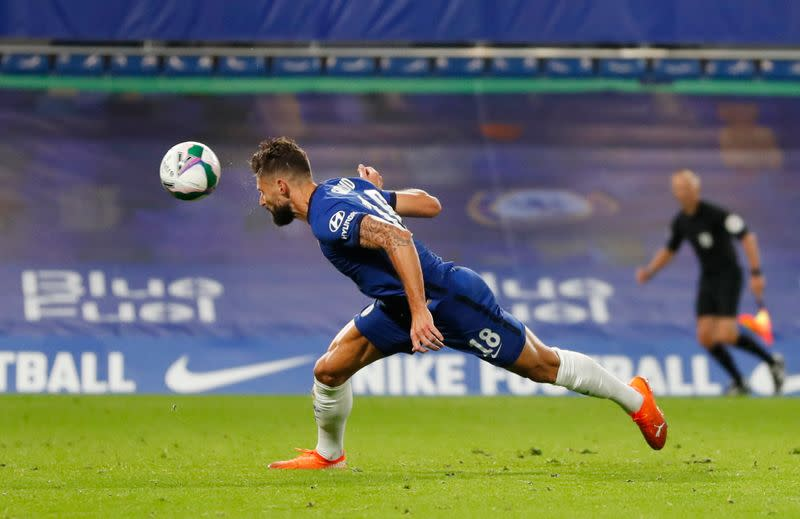 Deschamps hails Giroud's mental strength ahead of 100th France cap