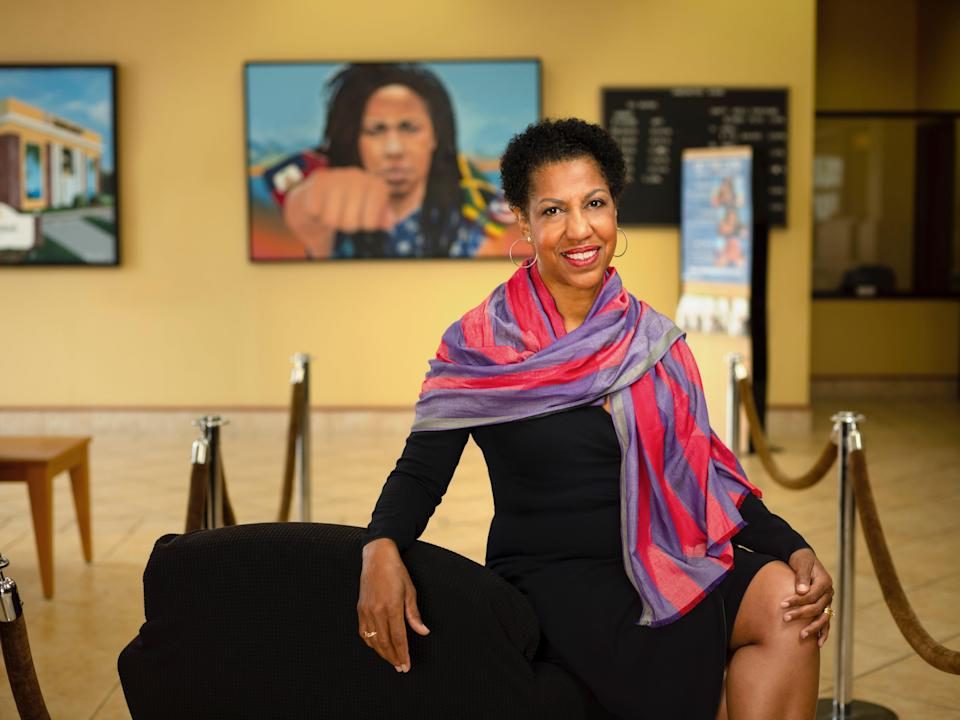 Teri Williams, president and chief operating officer of OneUnited Bank