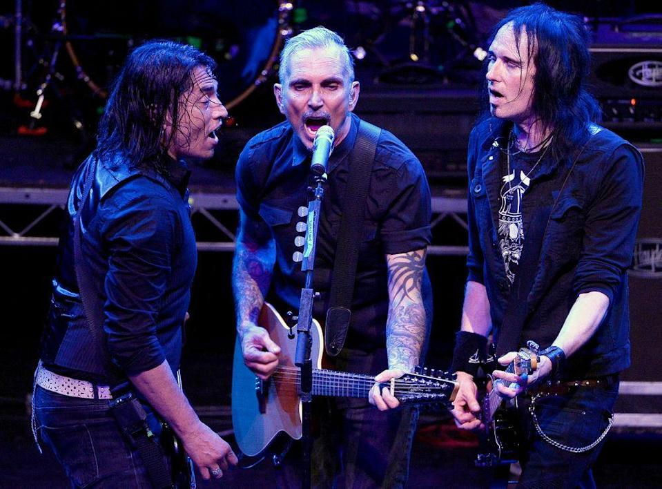 From left: Freddy Herrera, Art Alexakis and Davey French of Everclear   Michael Schwartz/Getty Images