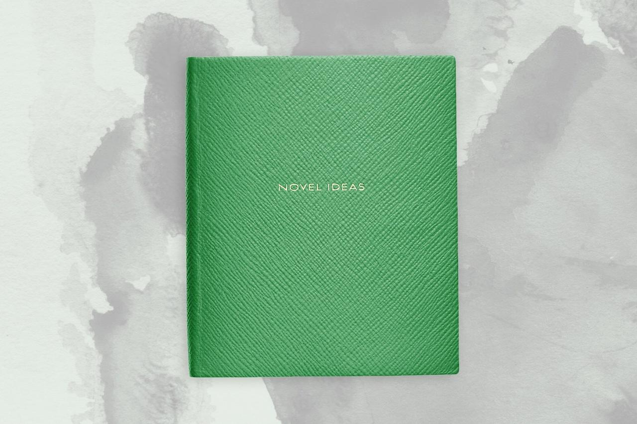 """<p>Great thoughts frequently come to us at 38,000 feet. Smythson's historic notebooks (the brand also supplies Buckingham Palace) have been serving explorers since the late 1800s, and are the perfect place for those ideas to go. Recently, the stationer has become more playful, with a dedicated range of tongue-in-cheek cover editions. Our favorites? 'Novel Ideas', 'Plans, Plots & Projects', and 'Don't Believe Everything You Read.'</p> <p><strong>Buy Now:</strong> <a href=""""https://fave.co/33ZrRWg"""" rel=""""nofollow"""" target=""""_blank"""">$115, <strong>s</strong>mythson.com</a></p>"""