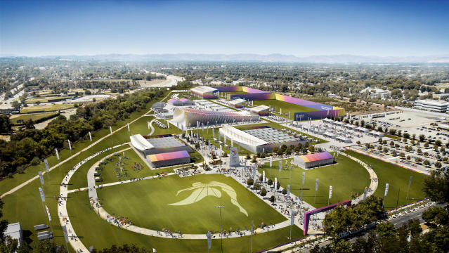 <p>Olympic and Paralympic Shooting. (Photo courtesy of LA2024) </p>