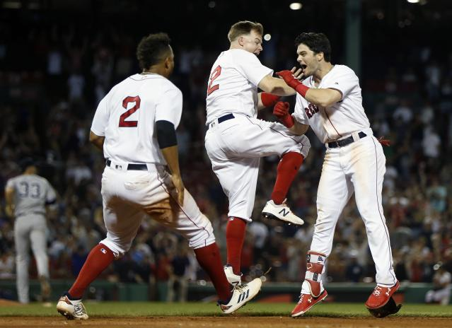 The Red Sox continue to distance themselves from the rest of the league. (AP Photo)