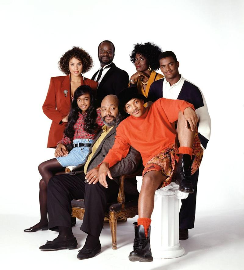 Cast of <em>The Fresh Prince of Bel-Air</em>