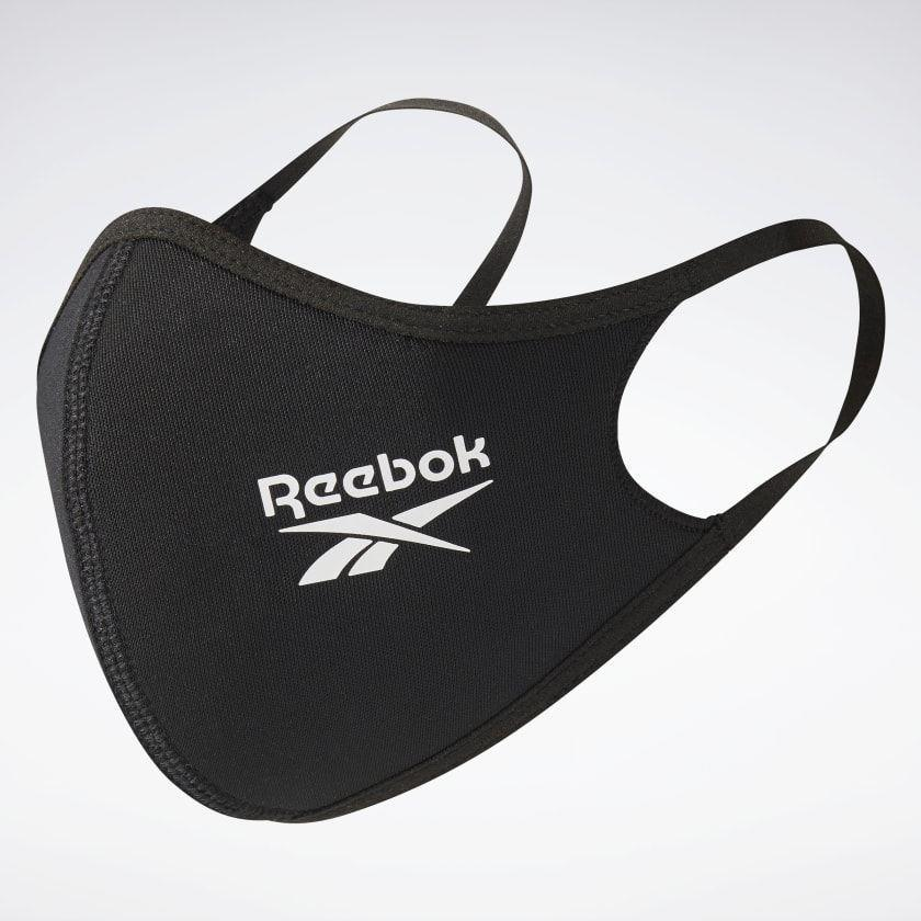 """<p><strong>reebok</strong></p><p>reebok.com</p><p><strong>$30.00</strong></p><p><a href=""""https://go.redirectingat.com?id=74968X1596630&url=https%3A%2F%2Fwww.reebok.com%2Fus%2Fface-covers-m-l-3-pack%2FH18222.html&sref=https%3A%2F%2Fwww.menshealth.com%2Ftechnology-gear%2Fg33545606%2Fcooling-face-masks%2F"""" rel=""""nofollow noopener"""" target=""""_blank"""" data-ylk=""""slk:BUY IT HERE"""" class=""""link rapid-noclick-resp"""">BUY IT HERE</a></p><p>Comfortable, washable, and reusable, Reebok's face masks are made with mostly recycled polyester—keeping you cool—and are plenty breathable despite the two layers of protection. They come in packs of three.</p>"""