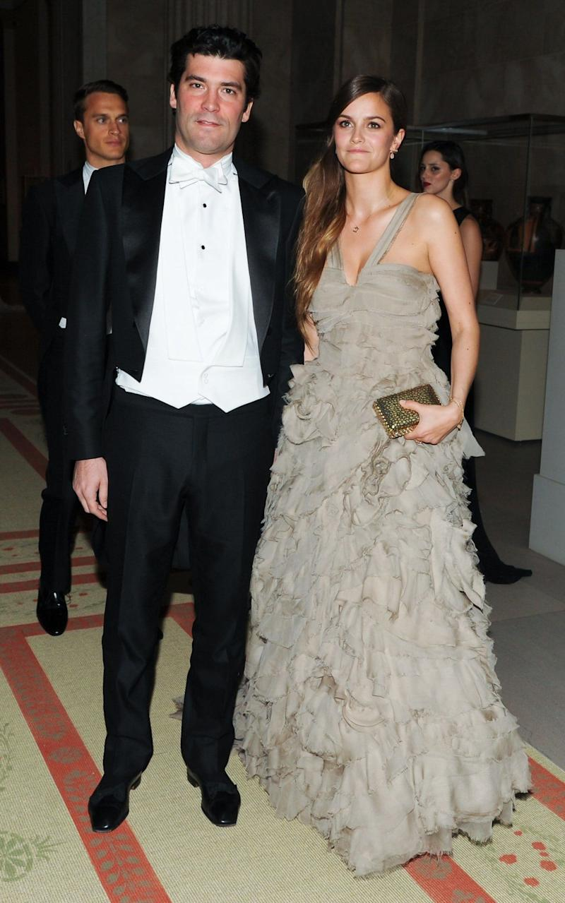 The couple made their debut at number 29, with an estimated fortune of £3,682million - Credit: BFAnyc.com/REX/Shutterstock